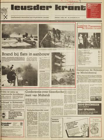 Leusder Krant 1987-04-07