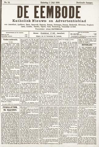 De Eembode 1899-07-01