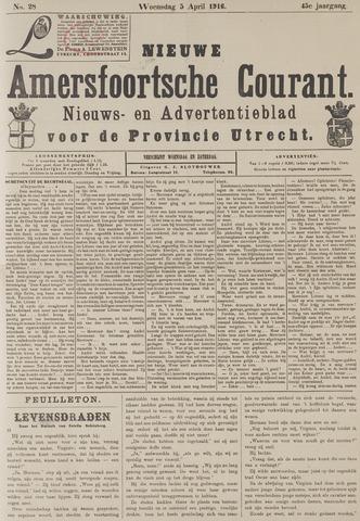 Nieuwe Amersfoortsche Courant 1916-04-05