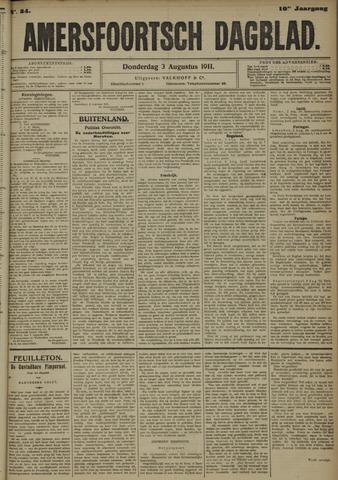 Amersfoortsch Dagblad 1911-08-03