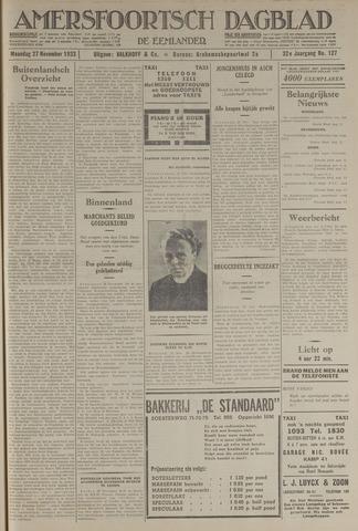Amersfoortsch Dagblad / De Eemlander 1933-11-27