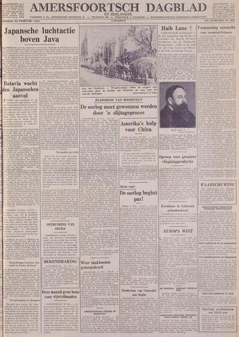 Amersfoortsch Dagblad / De Eemlander 1942-02-24