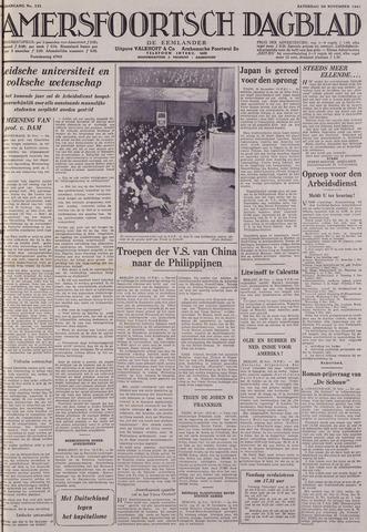 Amersfoortsch Dagblad / De Eemlander 1941-11-29