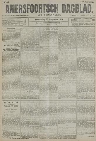 Amersfoortsch Dagblad / De Eemlander 1915-08-25