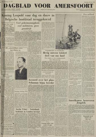 Dagblad voor Amersfoort 1950-07-22