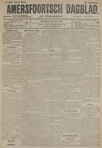Amersfoortsch Dagblad / De Eemlander 1917-06-30