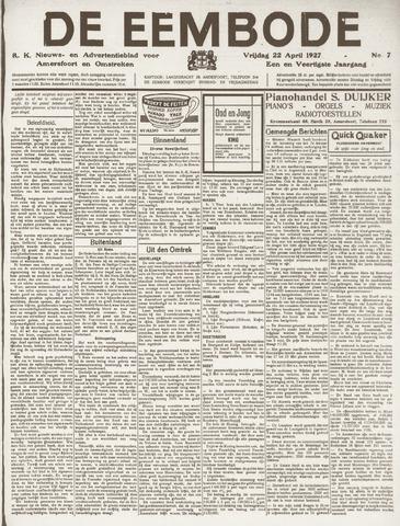 De Eembode 1927-04-22