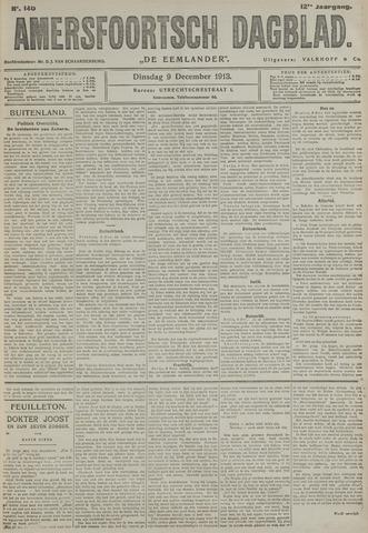 Amersfoortsch Dagblad / De Eemlander 1913-12-09
