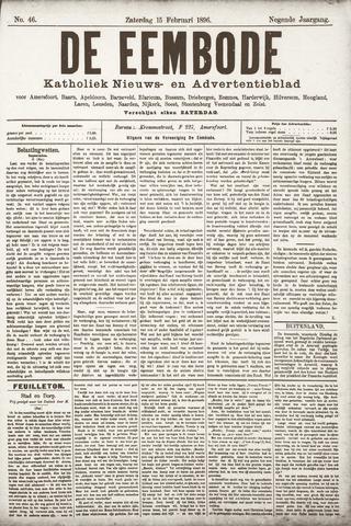 De Eembode 1896-02-15