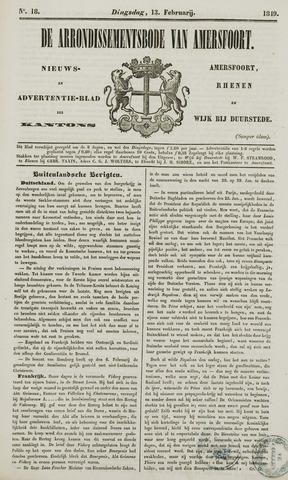 Arrondissementsbode van Amersfoort 1849-02-13