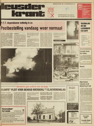 Leusder Krant 1981-04-28