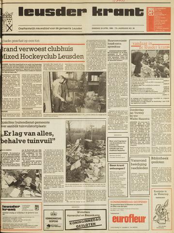 Leusder Krant 1986-04-29