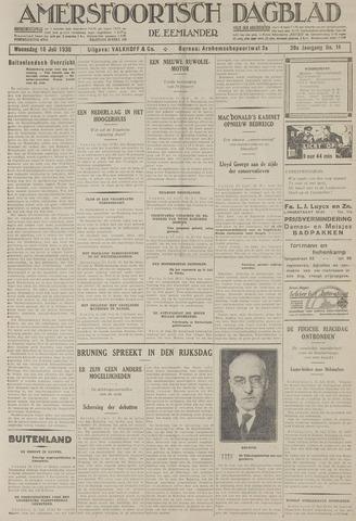 Amersfoortsch Dagblad / De Eemlander 1930-07-16
