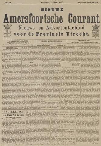 Nieuwe Amersfoortsche Courant 1905-03-29