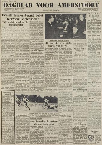 Dagblad voor Amersfoort 1949-02-09
