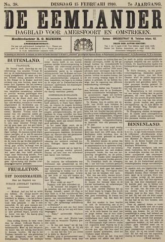 De Eemlander 1910-02-15