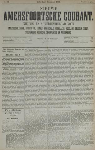 Nieuwe Amersfoortsche Courant 1883-12-01