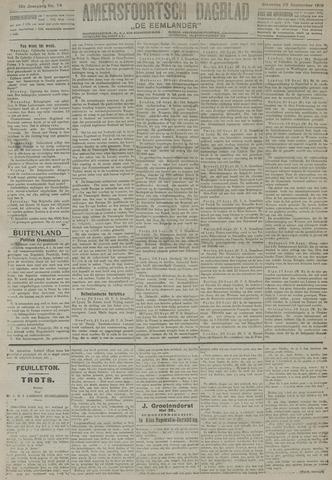 Amersfoortsch Dagblad / De Eemlander 1919-09-22