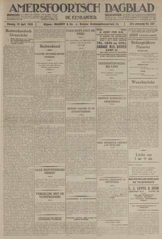 Amersfoortsch Dagblad / De Eemlander 1934-04-10