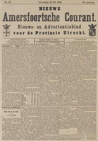 Nieuwe Amersfoortsche Courant 1913-05-21