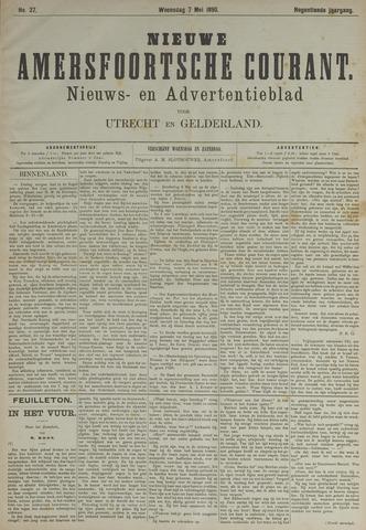Nieuwe Amersfoortsche Courant 1890-05-07