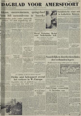 Dagblad voor Amersfoort 1950-11-27