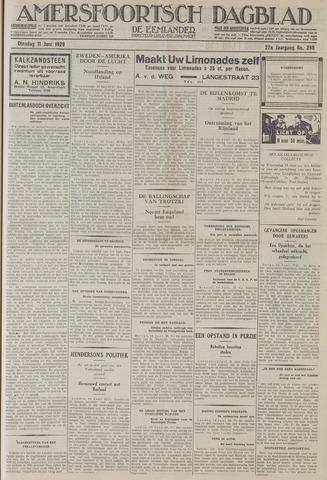 Amersfoortsch Dagblad / De Eemlander 1929-06-11