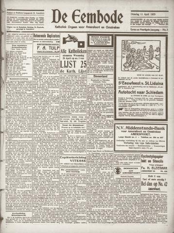 De Eembode 1933-04-11