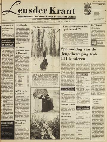 Leusder Krant 1971-12-30