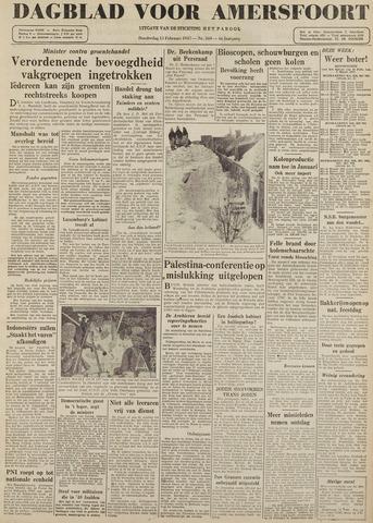 Dagblad voor Amersfoort 1947-02-13