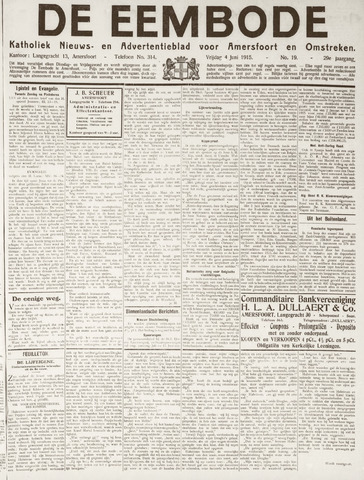 De Eembode 1915-06-04
