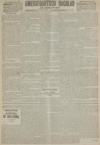 Amersfoortsch Dagblad / De Eemlander 1918-04-29