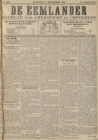 De Eemlander 1908-12-07