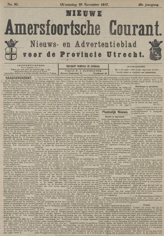 Nieuwe Amersfoortsche Courant 1917-11-28