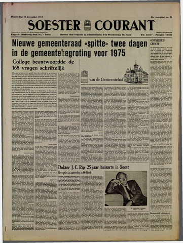 Soester Courant 1974-12-12