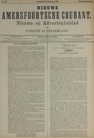 Nieuwe Amersfoortsche Courant 1885-12-24