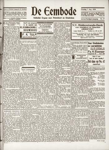 De Eembode 1934-08-07