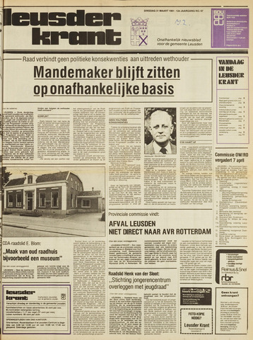 Leusder Krant 1981-03-31
