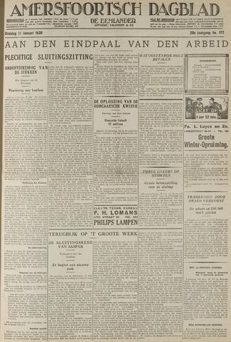 Amersfoortsch Dagblad / De Eemlander 1930-01-21