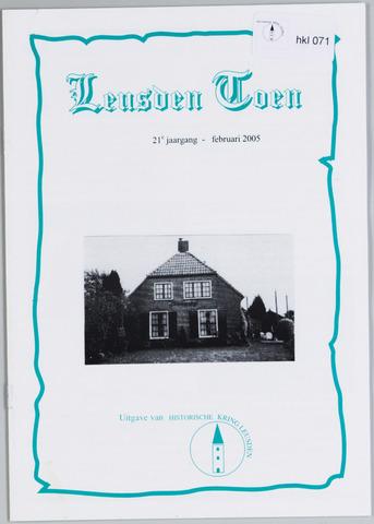 Historische Kring Leusden 2005