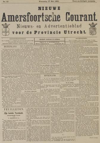 Nieuwe Amersfoortsche Courant 1903-05-27