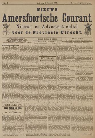 Nieuwe Amersfoortsche Courant 1907-01-05