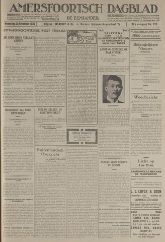 Amersfoortsch Dagblad / De Eemlander 1933-11-22