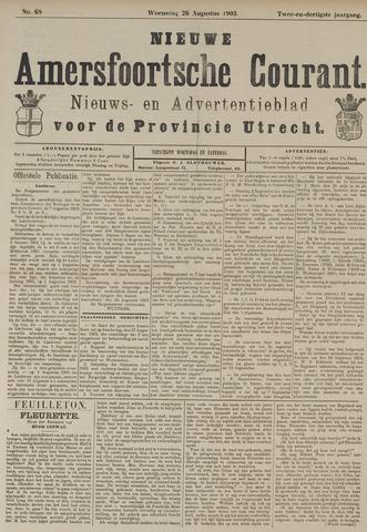 Nieuwe Amersfoortsche Courant 1903-08-26
