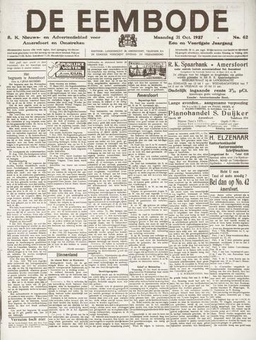 De Eembode 1927-10-31