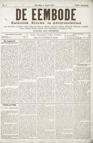 De Eembode 1891-04-04