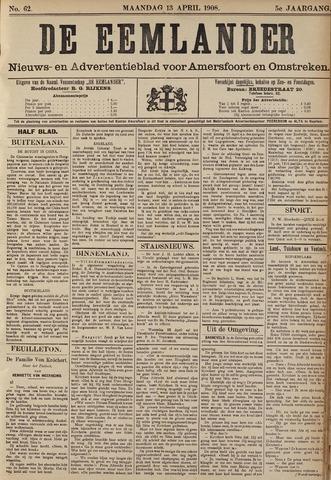 De Eemlander 1908-04-13