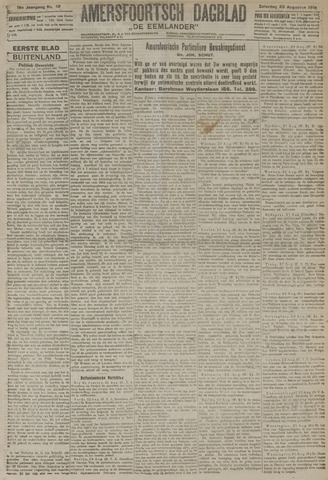 Amersfoortsch Dagblad / De Eemlander 1919-08-23