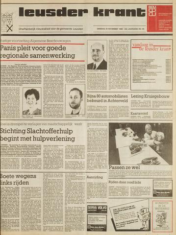 Leusder Krant 1988-11-29
