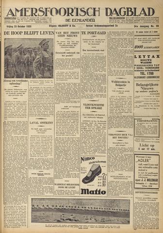 Amersfoortsch Dagblad / De Eemlander 1935-10-25